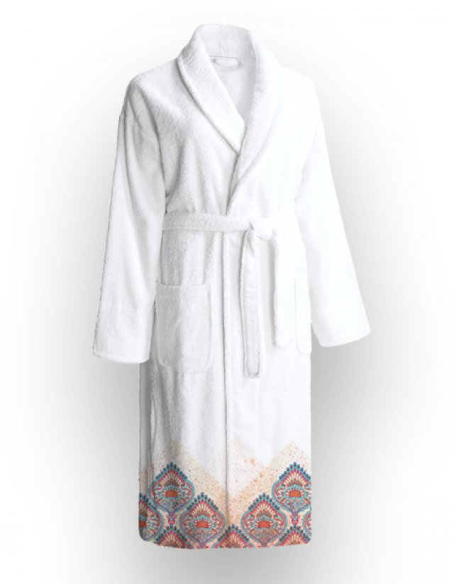 Printed bathrobe CARNIVAL