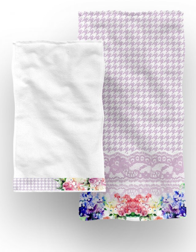 Set towels BOUQUET