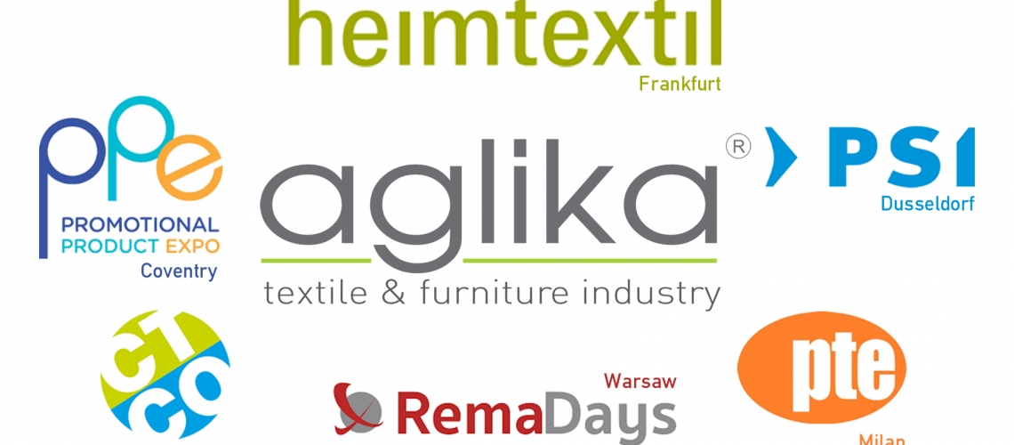 Aglika and worldwide textile fairs